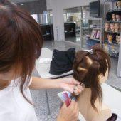 宇和島美容学校:コンテストに向けて