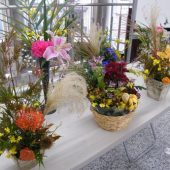 宇和島美容学校:秋のアレンジメント