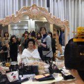 宇和島美容学校:ブログ:花嫁メイク着付け見学!