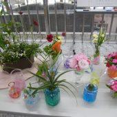 宇和島美容学校:ブログ:フラワーアレンジメント