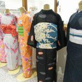 宇和島美容学校:夏の着物