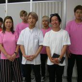宇和島美容学校:卒業生の訪問!