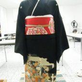 宇和島美容学校:ブログ:留袖着付け