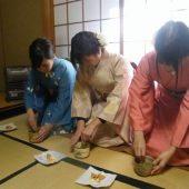 宇和島美容学校:ブログ:卒業茶会