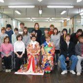 宇和島美容学校:卒業生来校!