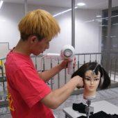 宇和島美容学校:ブログ:ブローの練習