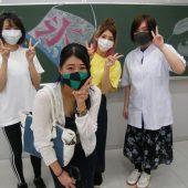 宇和島美容学校:先輩の訪問